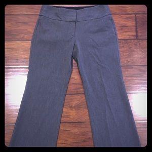 Express Editor Pants wide leg dark grey sz 6S
